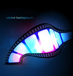 reel vector image