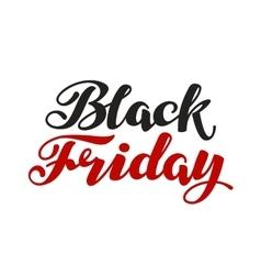Black Friday handmade lettering Sale vector image