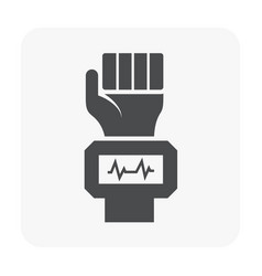 blood test icon vector image