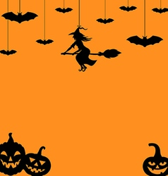 hallowen backg vector image