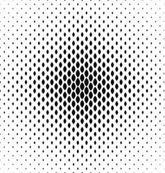 Monochrome curved shape pattern design background vector image