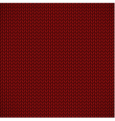 red knitted jersey vector image