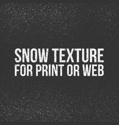 Snow texture for print or web vector