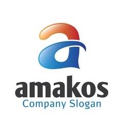 Amakos Design vector image vector image