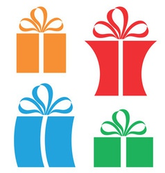 Gift Package vector image vector image