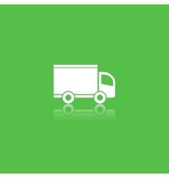 green delivery icon vector image vector image