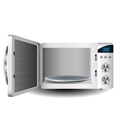 Microwave oven vector image