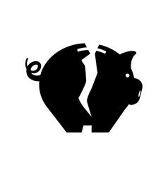 Piggy monet savings vector