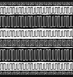 Seamless abstract geometric pattern hand drawn vector