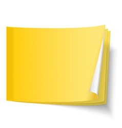 Sticky Note vector image