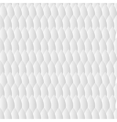 white geometric pattern with triangle vector image