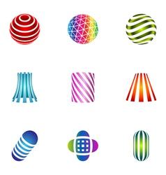 logo design elements set 29 vector image