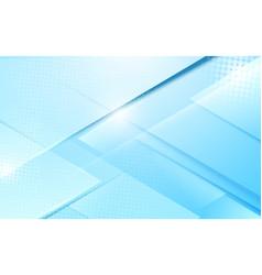 abstract soft blue modern geometric shape vector image