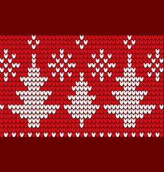 christmas winter background or ornament spruces vector image