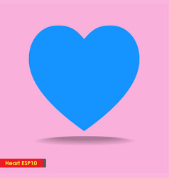 design big heart icon for template background vector image