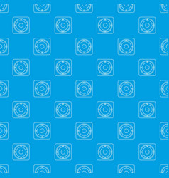 speaker pattern seamless blue vector image