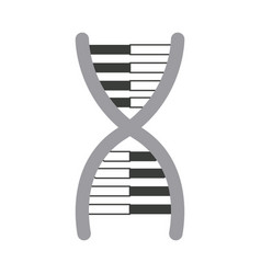 dna molecule chromosome biology genetic vector image vector image