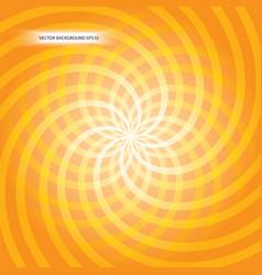 orange vortex vector image