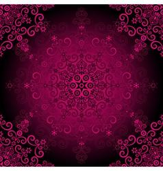 elegance vintage pattern vector image