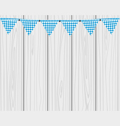 flags hanging colors of the bavarian flag vector image vector image