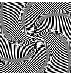 Rotation movement vector image