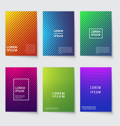 abstract background modern covers with geometric vector image