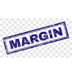 Grunge margin rectangle stamp vector