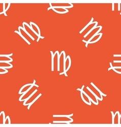 Orange Virgo pattern vector