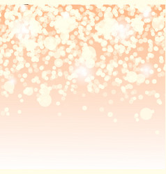 soft lights background vector image