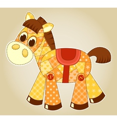 Application horse vector image vector image