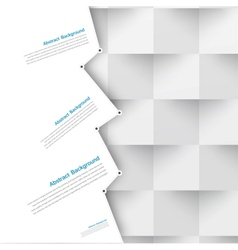 abstract background Polygon blue vector image vector image