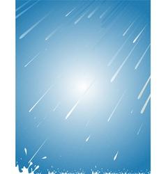 rain abstract vector image