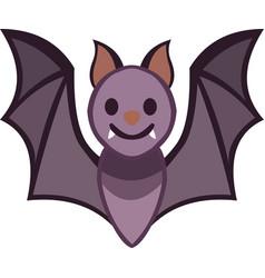 A bat cartoon vector
