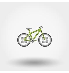 Bicycle icon vector image vector image