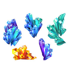 Crystal collection vector