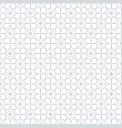 geometric arabic seamless pattern islamic texture vector image