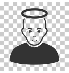 Holy Man Icon vector image