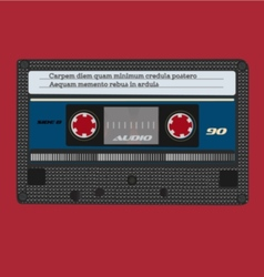 Retro tape vector image