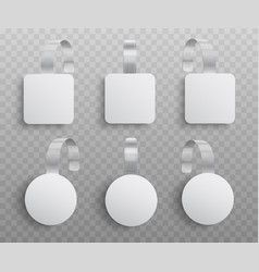 set realistic custom vector image