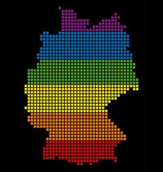 Spectrum pixel lgbt germany map vector