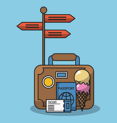 Vacations and travel vector