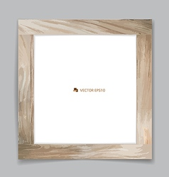 picture Wood frame vector image