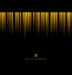 abstract yellow stripe vertical lines light on vector image