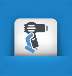 Dryer icon vector