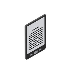 electronic book icon vector image