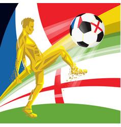 Final 2018 fifa world cup vector