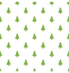 Fur tree pattern cartoon style vector
