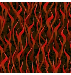 Hell fire seamless background vector