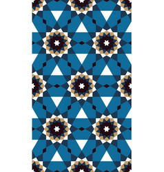 Islamic geometric ornament seamless pattern vector