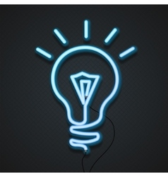 Neon Lamp vector image